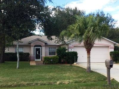 Palm Coast Single Family Home For Sale: 3 Emerald Lane
