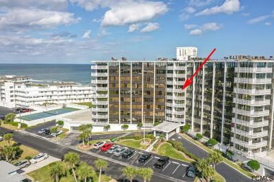 Flagler Beach Condo/Townhouse For Sale: 3580 S Ocean Shore Blvd #510
