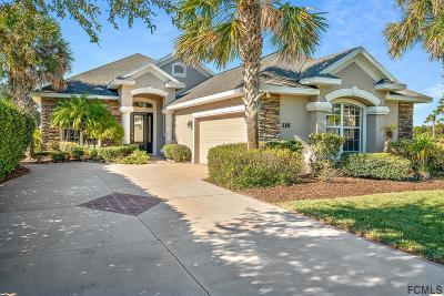 Palm Coast Plantation Single Family Home For Sale: 116 Heron Dr
