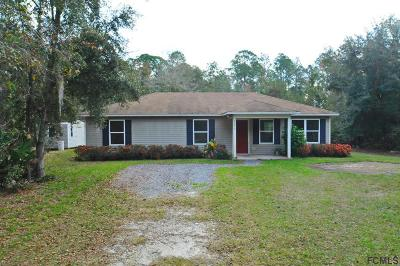 Bunnell Single Family Home For Sale: 3095 Water Oak Rd