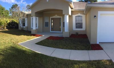 Palm Coast FL Single Family Home For Sale: $228,900