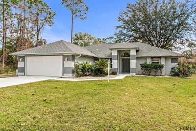 Palm Coast FL Single Family Home For Sale: $249,900