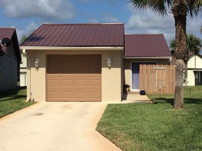 Flagler Beach Single Family Home For Sale: 23 Sunset Cove