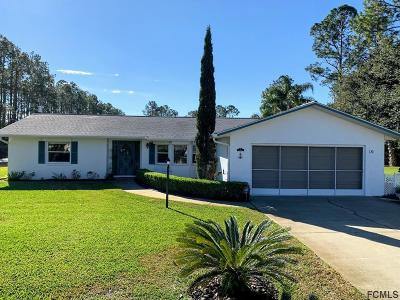 Palm Coast Single Family Home For Sale: 10 Rockwell Ln