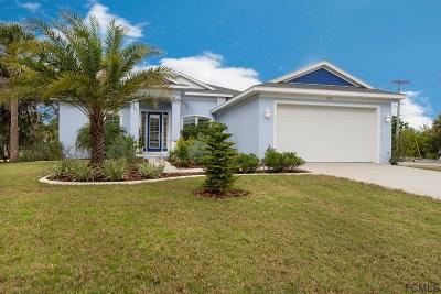 Flagler Beach Single Family Home For Sale: 600 Cumberland Dr