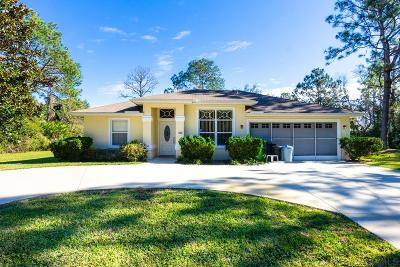 Palm Coast Single Family Home For Sale: 40 Prattwood Dr