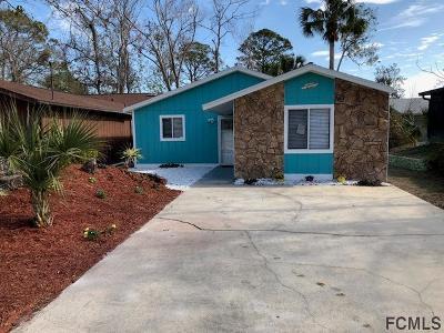 Flagler Beach Single Family Home For Sale: 120 Oak Lane