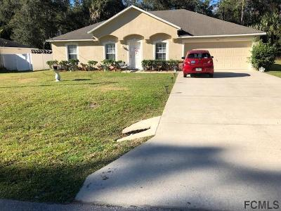 Palm Coast Single Family Home For Sale: 16 September Place