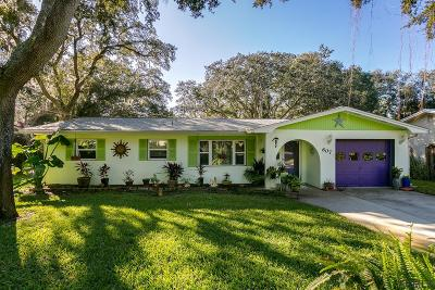 St Augustine Single Family Home For Sale: 607 Mariposa St