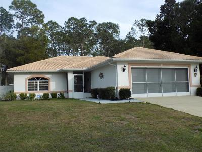 Palm Coast Single Family Home For Sale: 110 Roxboro Drive