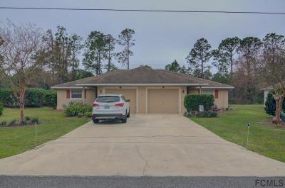 Palm Coast Multi Family Home For Sale: 10 Squash Blossom Court