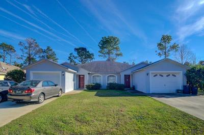 Palm Coast Multi Family Home For Sale: 8 Pine Hill Ln