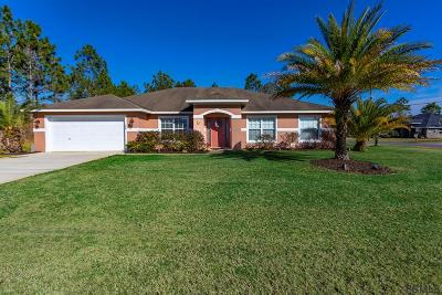 Palm Coast Single Family Home For Sale: 2 Linda Pl