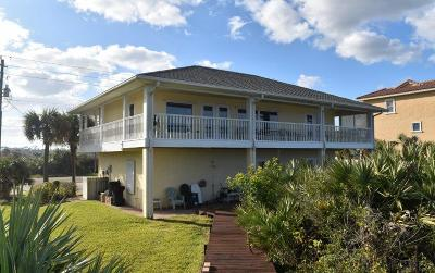 Flagler Beach Single Family Home For Sale: 2715 N Ocean Shore Blvd
