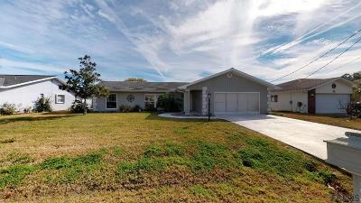 Palm Coast Single Family Home For Sale: 8 Floyd Court