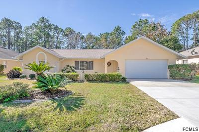 Palm Coast Single Family Home For Sale: 30 Barbera Ln