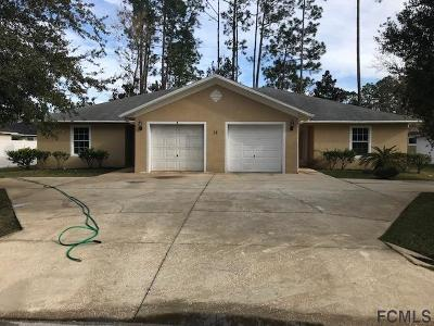 Palm Coast Multi Family Home For Sale: 12 Emerald Lane