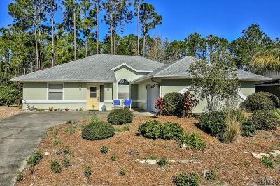 Palm Coast FL Single Family Home For Sale: $208,000