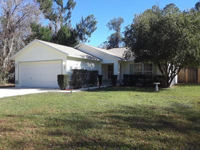 Palm Coast FL Single Family Home For Sale: $169,000