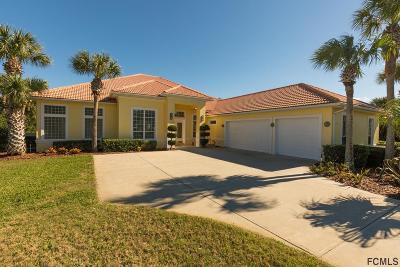 Hammock Dunes Single Family Home For Sale: 59 Island Estates Pkwy
