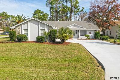 Palm Coast FL Single Family Home For Sale: $224,900