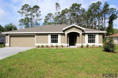 Palm Coast FL Single Family Home For Sale: $227,500