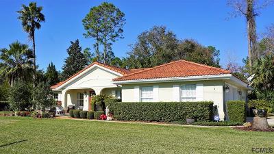 Palm Coast FL Single Family Home For Sale: $209,000