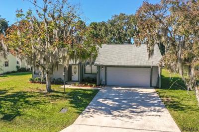 Palm Coast FL Single Family Home For Sale: $189,900