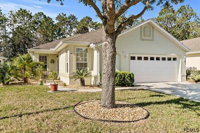 Palm Coast FL Single Family Home For Sale: $235,000