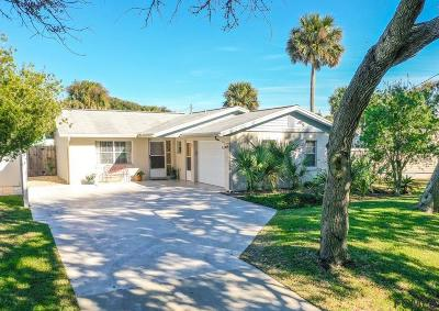Flagler Beach Single Family Home For Sale: 1021 S Flagler Ave