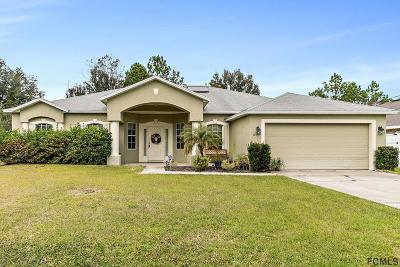 Matanzas Woods Single Family Home For Sale: 32 Lancelot Drive