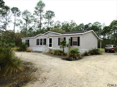 Bunnell Single Family Home For Sale: 3180 Palmetto St
