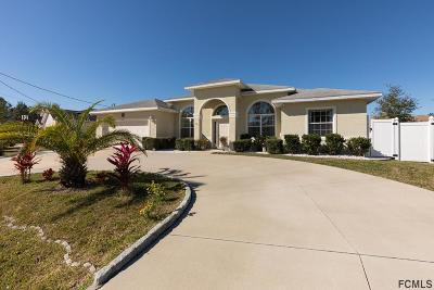 Palm Coast Single Family Home For Sale: 64 Faircastle Lane