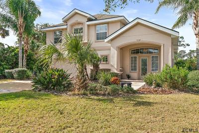 Palm Coast Plantation Single Family Home For Sale: 204 S Riverwalk Dr