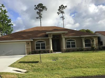 Palm Coast Single Family Home For Sale: 43 Eagle Harbor Trail