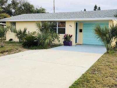 Ormond Beach Single Family Home For Sale: 48 Palm Dr