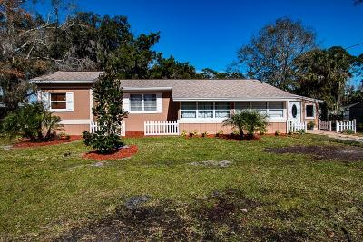 Bunnell Single Family Home For Sale: 206 7th St
