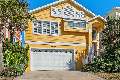 Flagler Beach Single Family Home For Sale: 2836 S Ocean Shore Blvd