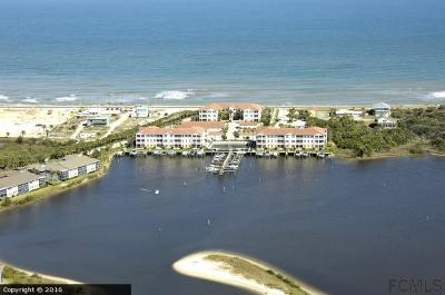 Flagler Beach Condo/Townhouse For Sale: 300 Marina Bay Drive #101