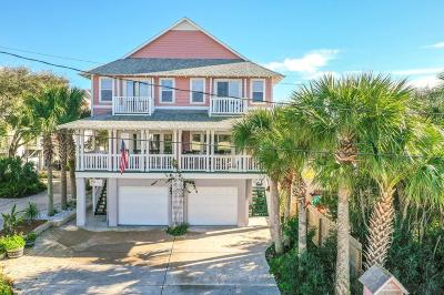Flagler Beach Single Family Home For Sale: 205 S 6th St S