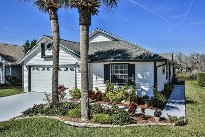 Palm Coast Single Family Home For Sale: 25 Nantucket Dr