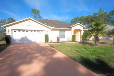 Palm Coast Single Family Home For Sale: 11 Ramble Way