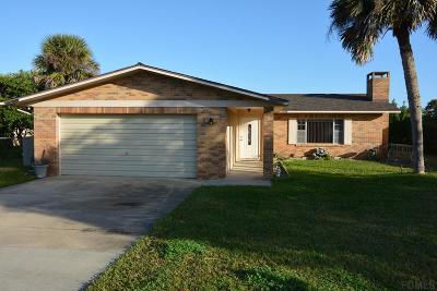 Flagler Beach Single Family Home For Sale: 334 N 11th St N