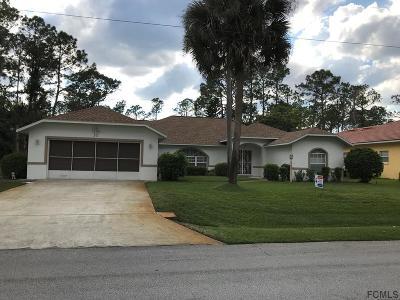 Palm Coast Single Family Home For Sale: 31 Boston Ln