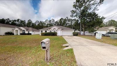 Palm Coast Single Family Home For Sale: 65 Karas Trail