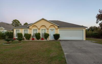 Palm Coast Single Family Home For Sale: 8 Lucas Lane