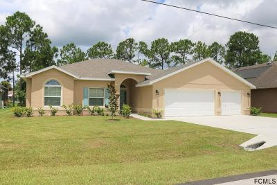 Palm Coast Single Family Home For Sale: 95 Bickford Dr