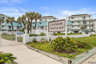 Flagler Beach Condo/Townhouse For Sale: 3510 S Ocean Shore Blvd #303