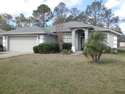 Palm Coast Single Family Home For Sale: 39 Praver Lane