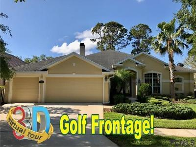 Palm Coast Single Family Home For Sale: 13 Lakeview Ln